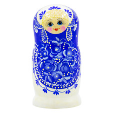 Russische Matroschka Matrjoschka  Holzpuppe 5 Puppen Babuschka Матрешка 5 кукол