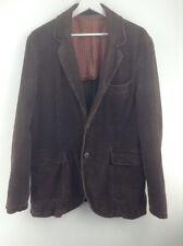 Da Uomo Crew Clothing Marrone Velluto A Coste Giacca Taglia L STOCK No.Y421