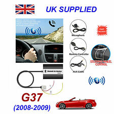 For Infinity G37 Bluetooth Hands Free Phone AUX Input MP3 USB 1A Charger Module