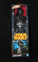 """HASBRO Star Wars DARTH VADER W/Lightsaber 12"""" Figure 2013 original box"""