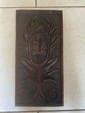 19th Century Carved OAK PANEL