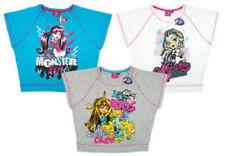 T-shirts, hauts et chemises multicolores avec col rond en polyester pour fille de 2 à 16 ans