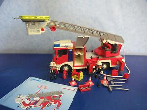 4820 Feuerwehr Leiterwagen Blaulicht Figuren zu 9462 4819 Playmobil  4546