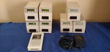 Lot of 7 Timelox Card Encoders with 1 Hand held encoder Ace-L and Ace