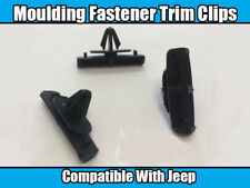 20x Clips For Jeep Grand Cherokee Liberty Car Plastic Fasteners Moulding Black