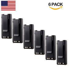 6 Pack 1100mAh BP-209/N BP-210/N BP-222/N Battery for ICOM IC-V8 V82 U82 A6 A24