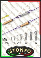 microgancio in acciaio inox Stonfo Micro-moschettone sgancio rapido