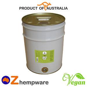 HEMP SEED OIL BULK COLD-PRESSED UNREFINED PREMIUM AUSTRALIAN GROWN 20L