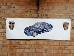 rover 75 ZT pvc large WORK SHOP BANNER garage car show banner