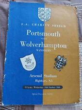 More details for fa charity shield programme 1949 portsmouth v wolves @ arsenal offers
