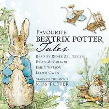 Favourite Beatrix Potter Tales: Read by Stars of the Movie  Miss Potter by Beatrix Potter (CD-Audio, 2006)