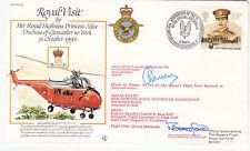 RV23c Royal Visit Her HRH Princess Alice Duchess of Gloucester to York 2 Signed