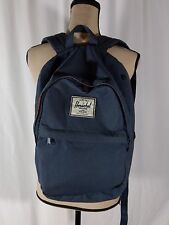 "Herschel Supply Co Navy Backpack 17.5"" Laptop Sleeve Flawed"