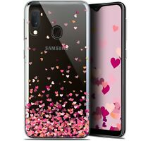 "Coque Pour Samsung Galaxy A20E (5.8"") Extra Fine Sweetie Heart Flakes"