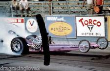 """Rapp & Rossi"" 1960s Front Engine ""SlingShot"" Top Fuel Dragster PHOTO!"