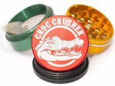 Croc Crusher - 4 Piece Herb Grinder - 2.2'' Standard Size - Rasta