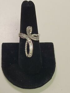 Bella Luce White Cubic Zirconia Sterling Silver Ring 1.52ctw. Sz 7 NWT