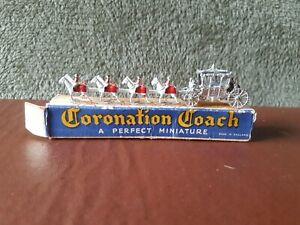 Lesney - Moko - Queen's Coronation Coach Miniature Model Silver, boxed.