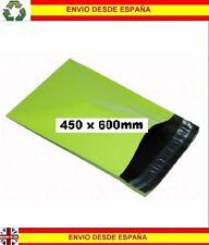 25 Bolsas de plástico mensajeria reciclable 450x600mm envios mailing correo post