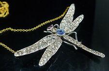 Diamond Silver Pendant/Locket Victorian Fine Jewellery