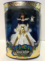 1998 NRFB Snow White Disney Holiday Princess Doll Mattel 19898