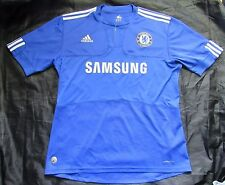 CHELSEA LONDON home shirt jersey ADIDAS 2009-2010 /The Blues / adult SIZE L