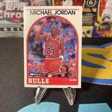 1989-90 NBA HOOPS MICHAEL JORDAN #200 CARD, CHICAGO BULLS.