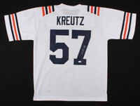 Olin Kreutz Signed Chicago Bears White Football Jersey (JSA COA) Autographed ~C~