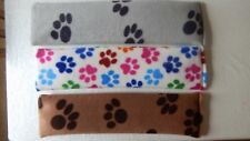 Pet Paws Fleece Microwave Wheat Bags Lavender And Wheat Body Warmer Pain Relief