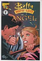 Buffy the Vampire Slayer Angel #1/2 half Wizard mail in Joss Whedon 9.6