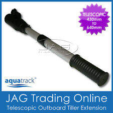 TELESCOPIC OUTBOARD BOAT MOTOR TILLER EXTENSION HANDLE 430-640mm / 17-25""