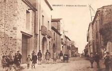 CPA 34 BRIGNAC AVENUE DE CLERMONT (ANIMATION TOP