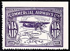 Canada 1930 Commercial Airways, Scott CL49a BROKEN C, MH, catalogue - $250