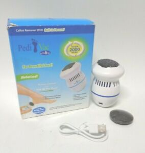 Pedi Vac by Ped Egg Callus Remover for Feet with Built-in Vacuum Removes