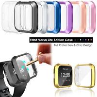 Sehen Sie TPU Case Bumper Vollständige Abdeckung For Fitbit Versa Lite