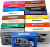 BOGO!! Polymer Clay Kato Polyclay Oven Jewelry Craft Bake Bar Van Aken 2 Oz