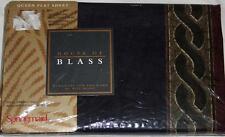 Vtg BILL BLASS Springmaid FRENCH CLASSIC II Queen Flat Percale Sheet NIP DISC