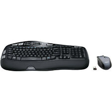Logitech MK570 Comfort Wave Wireless USB Keyboard Laser Mouse Bundle 920-008001