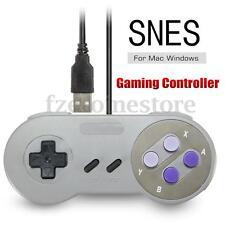 SNES USB Famicom Colored Super Classic GamePad Controller for Windows PC MAC NEW