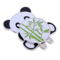 Alloy Golf Cute Panda Hat Cap Clip with Magnetic Detachable Ball Marker