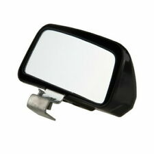 1Pc Universal RearView Mini Mirror Adjustable Black Fit Most Car Truck Vehicles