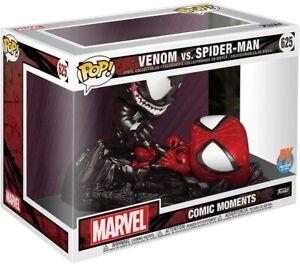 Funko POP! Marvel ~ VENOM vs. SPIDER-MAN (COMIC MOMENTS) FIGURE SET ~ Diamond PX