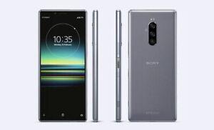 SONY XPERIA 1 grau-chrome 128 GB DUAL SIM 4K HDR OLED DISPLAY REFERENZ! 949,- €