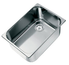 Caravan Sink, Polished Stainless Steel 316g, Boat Sink. RV Washbasin