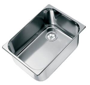 Caravan Sink, Polished Stainless Steel Marine,  Boat Sink. RV Washbasin
