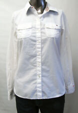 Tommy Hilfiger,Neuwertig,Damen,Hemd,Bluse,Weiß,S(USA),Gr.38