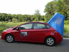Prius Car Camping Tent 2003 through 2015 Models, Habitents Hatchback (Blue)
