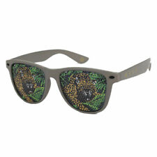Neff Unisex Daily Lens Print Shades Sunglasses Olive Tiger Gray Sun Protection