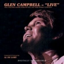 Glen Campbell Live CD NEW SEALED By The Time I Get To Phoenix/Gentle On My Mind+