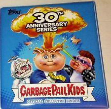 topps NEW GPK GARBAGE PAIL KIDS 30th BLUE OFFICIAL BINDER/ALBUM